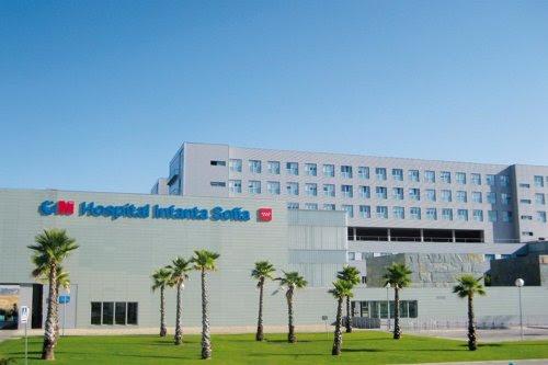 Fachada del Hospital Infanta Sofía