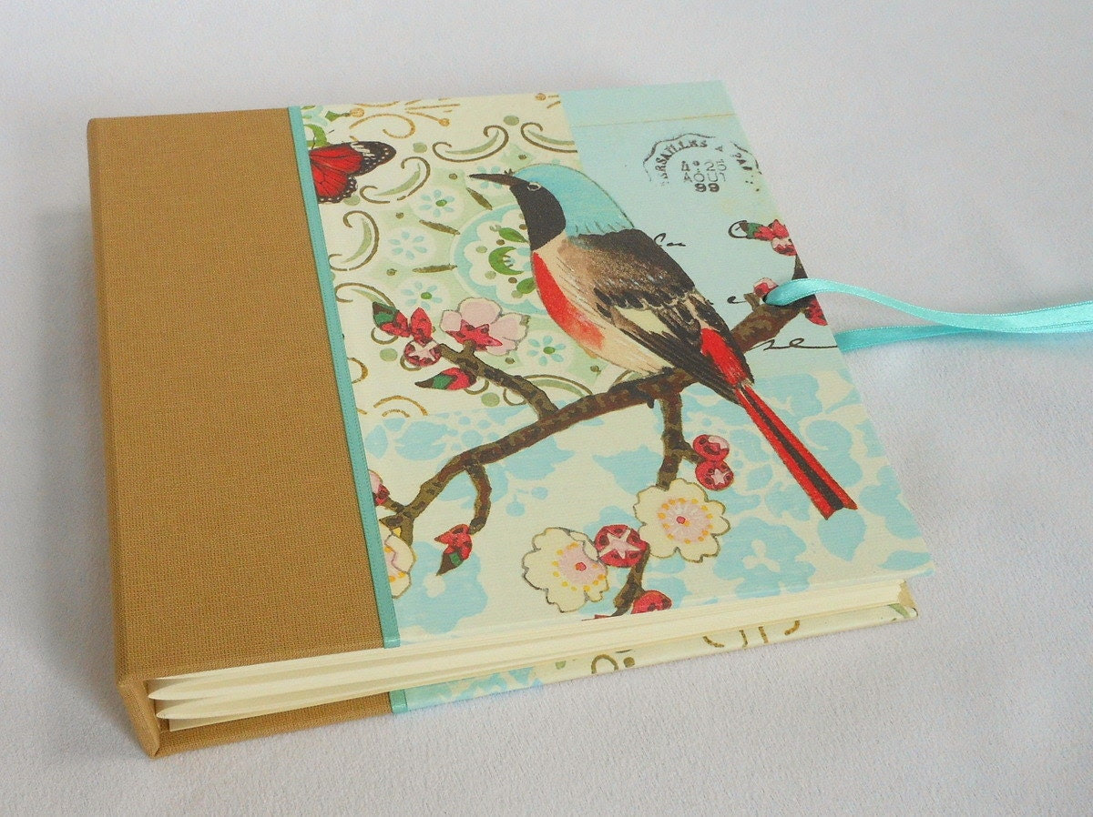 6x6 Square Photo Album Scrapbook with Ties - Fits Instagram 5x5 - Scroll
