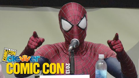 The Amazing Spider Man 2 Comic Con