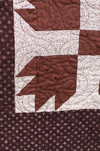 Vintage Bear Claw Quilt by jenib320