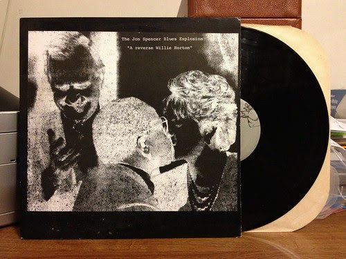 The Jon Spencer Blues Explosion - A Reverse Willie Horton LP by Tim PopKid