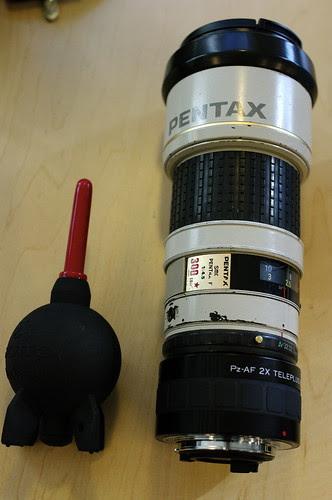 Pentax 600mm setup with Kenko 2x Pz-AF Teleplus MC7