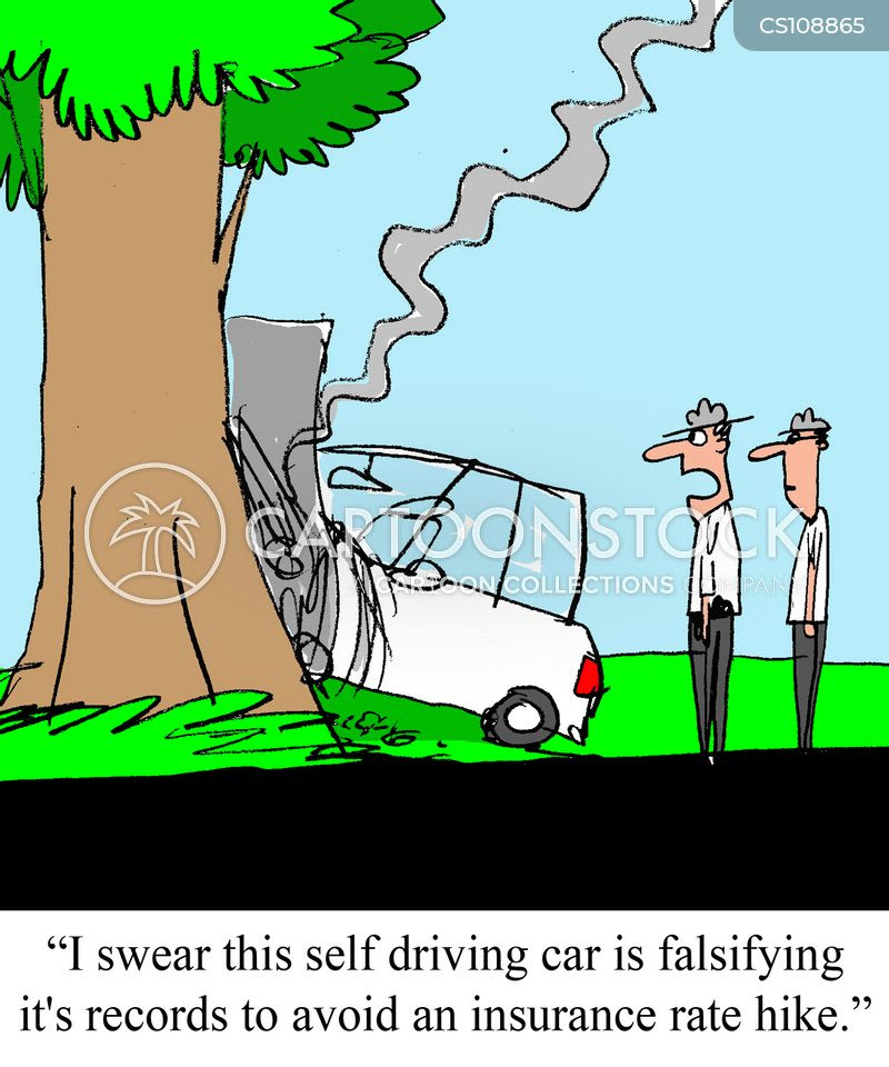 Self Driving Cars Cartoons and Comics - funny pictures ...