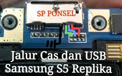 Samsung S5 Replika Usb Charging Problem Solution Jumper Ways