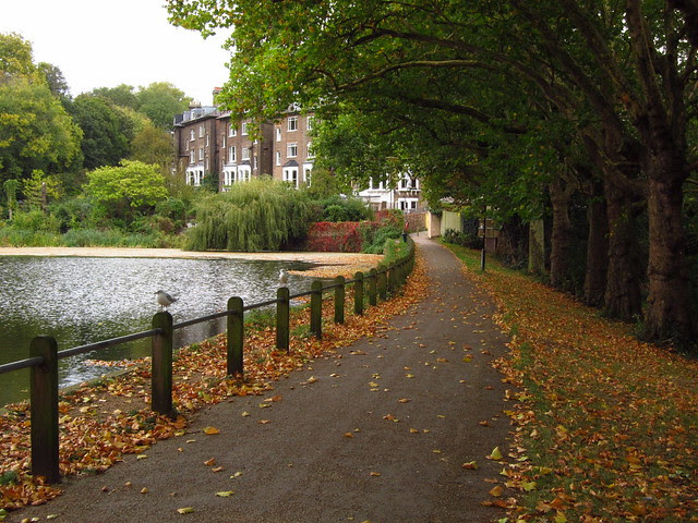 At Hampstead No 2 Pond