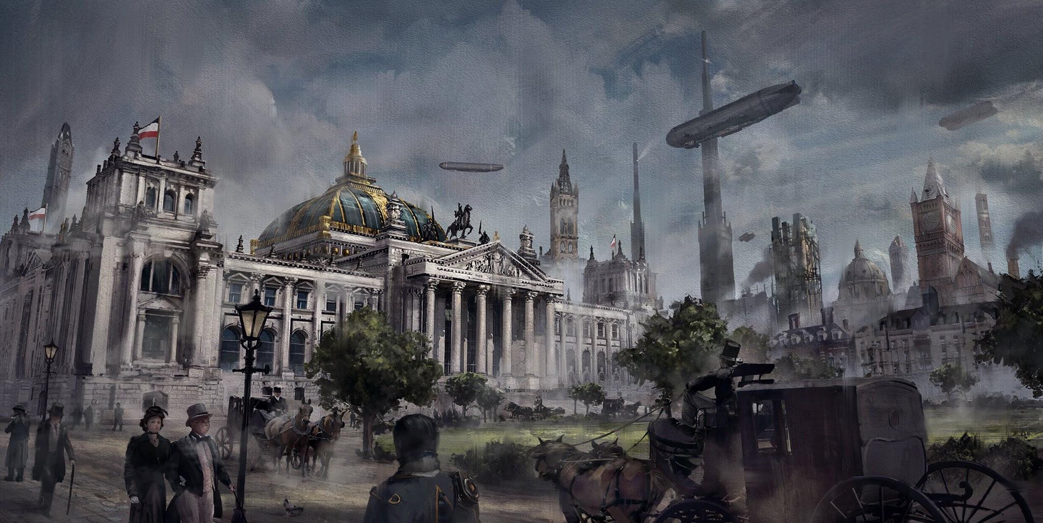 Produtora mostra como seriam algumas cidades no período de The Order: 1886