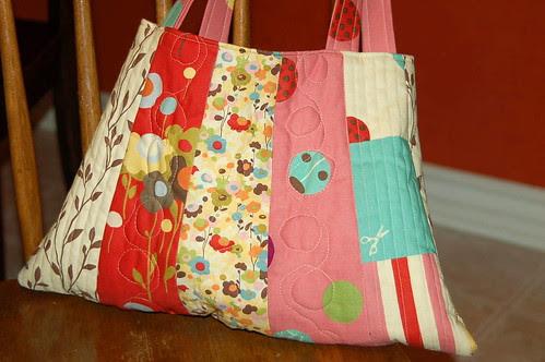 Wonderland Bag - up close