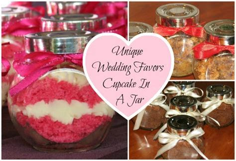 Unique Wedding Favors Cupcake In A Jar