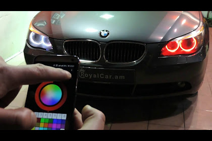 Bmw M4 Red Headlights
