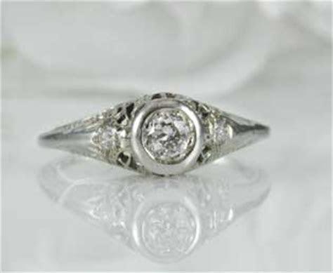Estate Belais Engagement Ring