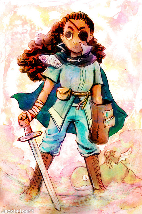 "Connie, from Steven Universe. Outfit was from episode 51, ""Open Book"", where she dressed herself up as her favorite character Lisa."