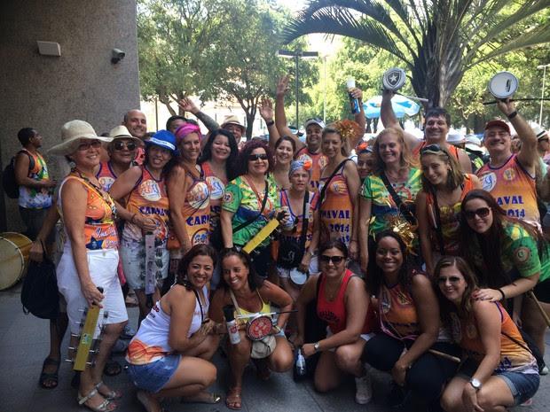 Carnaval de rua começou neste sábado (3) no Rio (Foto: Fernanda Rouvenat/G1)