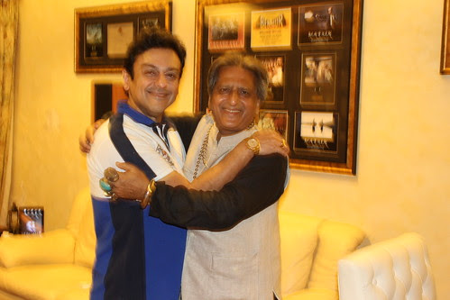 Adnan Sami And Me Belated Eid Mubarak.. Shot By My Tailor Master by firoze shakir photographerno1