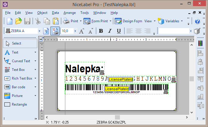 Microsoft Dynamics AX tools and tutorials: Printing labels with the