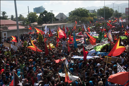 East Timorese rise against exploitation of their maritime sovereignty