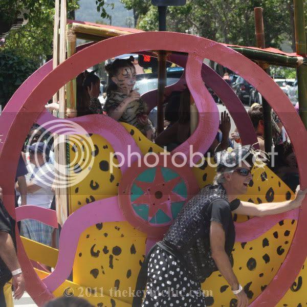 Santa Barbara Solstice parade 2011