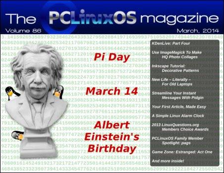Περιοδικό PCLinuxOS Μάρτιος 2014