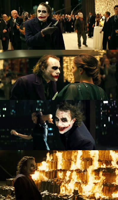 THE DARK KNIGHT montage.
