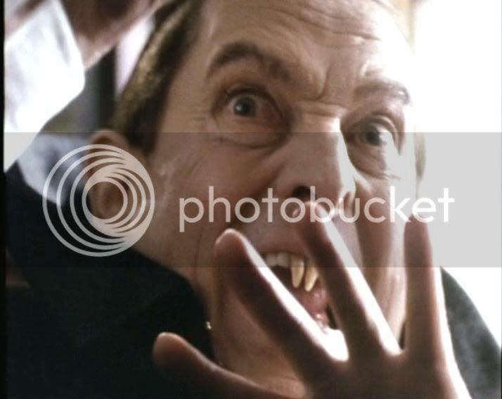 Holmes as a vampire
