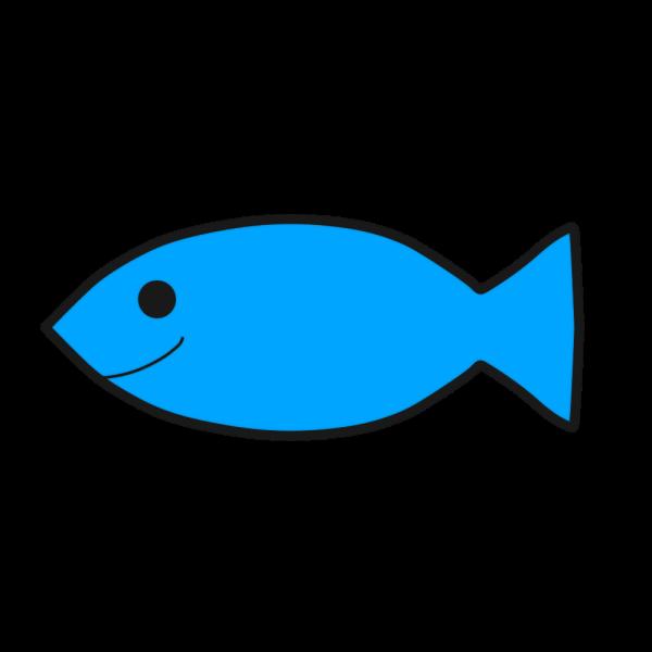 笑顔の魚のイラスト かわいいフリー素材が無料のイラストレイン