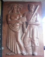 Puławska (nr 26) rzeźba 2