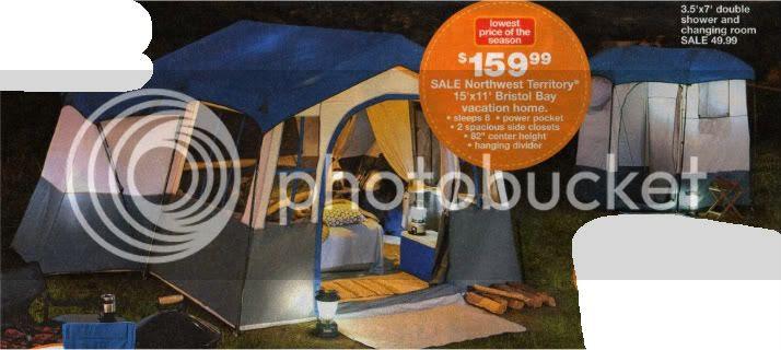 Kmart tents