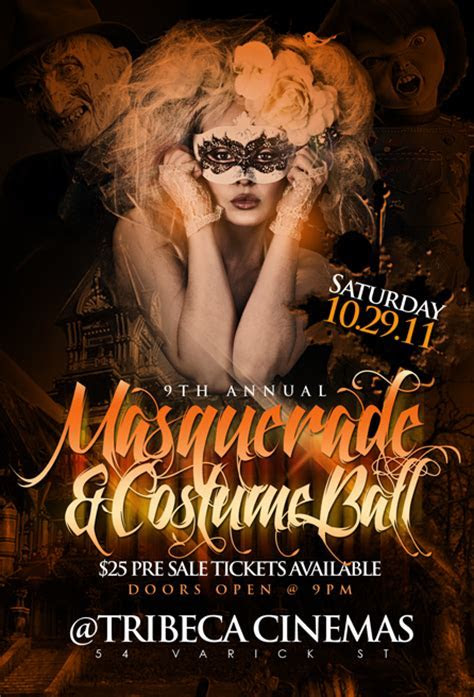 9th Annual Masquerade & Costume Ball   Tribeca Cinemas