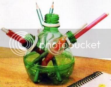 Artesanato com embalagens plásticas
