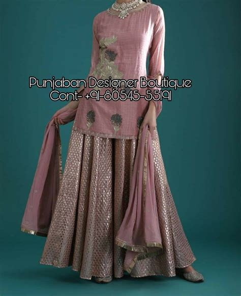 Sharara Designs For Wedding With Price   Punjaban Designer