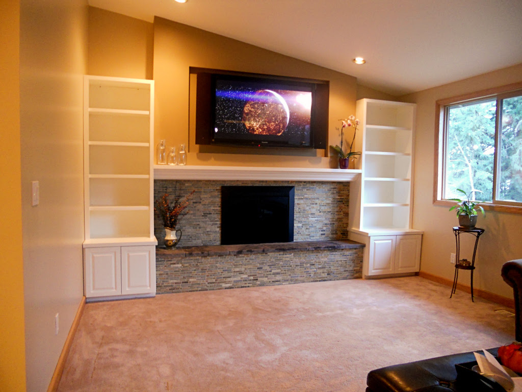 Everett Wa Fireplace Home Theater Installation Theater