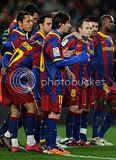FC Barcelona vs Racing Santander Pics