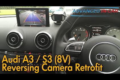 Audi A3 Rear View Camera Retrofit