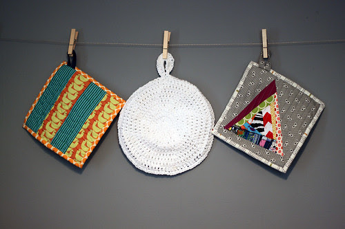 Mixed Media Potholders