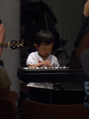 Musical prodigy in the making