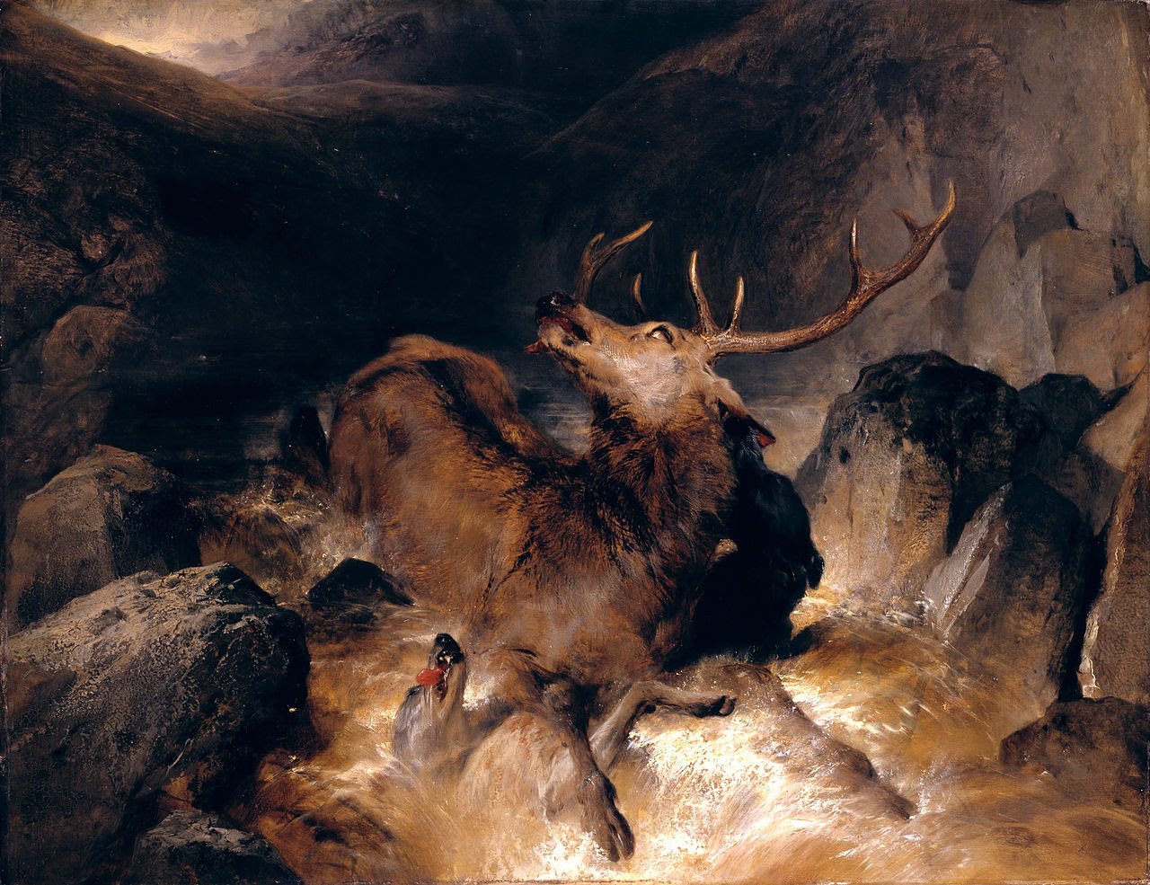 http://upload.wikimedia.org/wikipedia/commons/thumb/c/c6/Sir_Edwin_Henry_Landseer_-_Deer_and_Deer_Hounds_in_a_Mountain_Torrent_-_Google_Art_Project.jpg/1280px-Sir_Edwin_Henry_Landseer_-_Deer_and_Deer_Hounds_in_a_Mountain_Torrent_-_Google_Art_Project.jpg