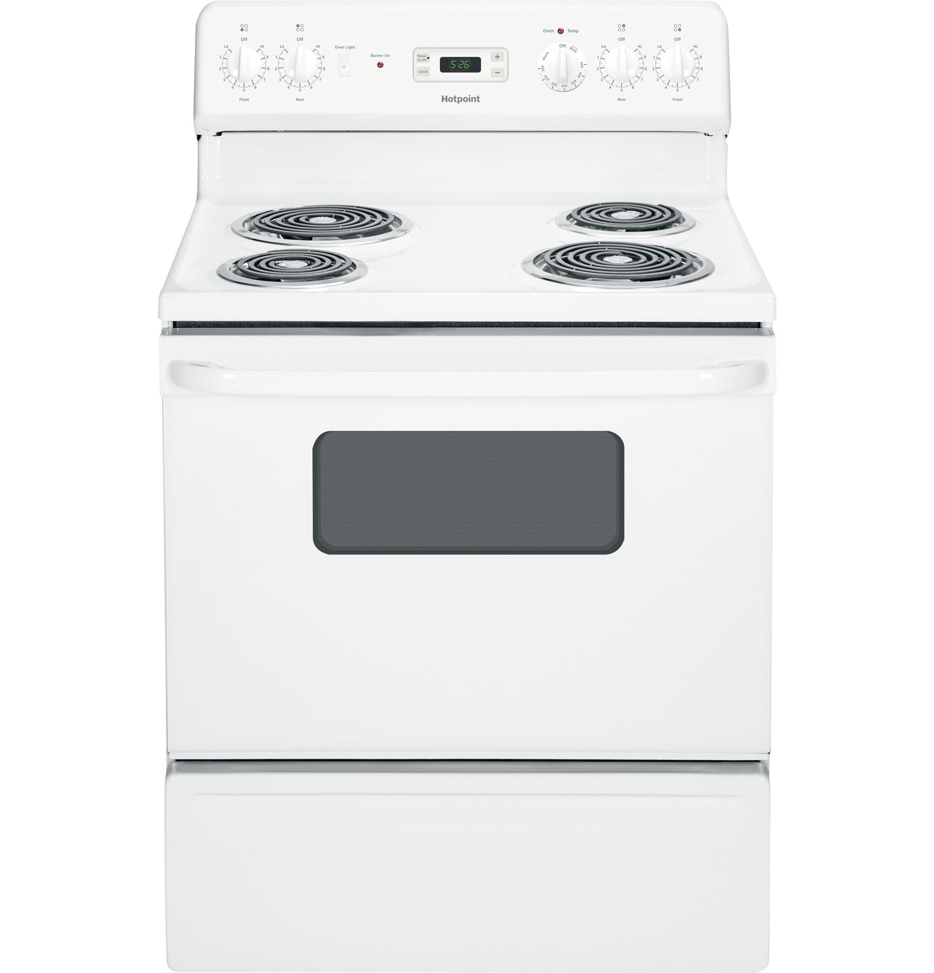 UPC Hotpoint Ranges 5 0 cu ft Electric Range in
