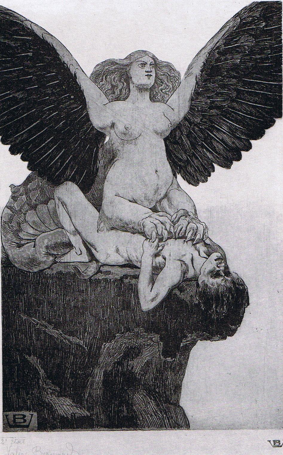 Valère Bernard - Le Sphinx