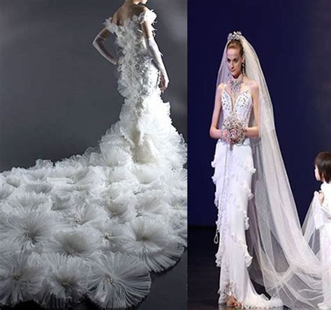 expensive formal dresses   10 Most Expensive Wedding