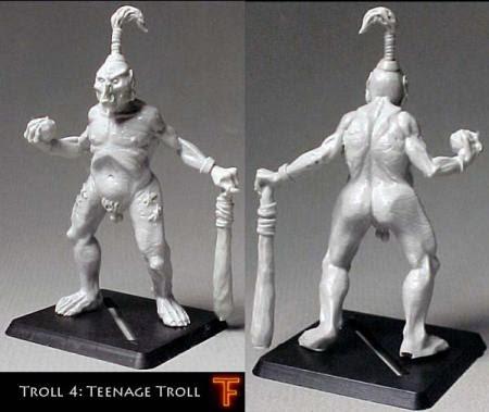 Teenage male troll