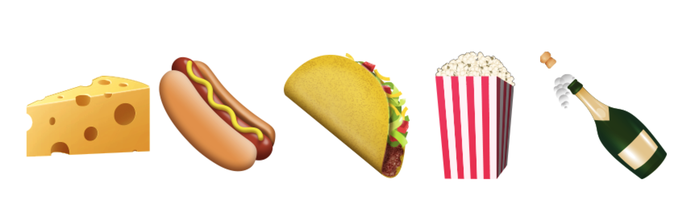 Novos emojis de comida no WhatsApp para Android (Foto: Reprodução/Emojipedia)