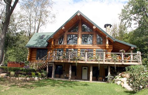 beautiful log home plans  log cabin home designs