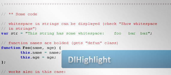 dlhighlight-code-highlighter-plugin