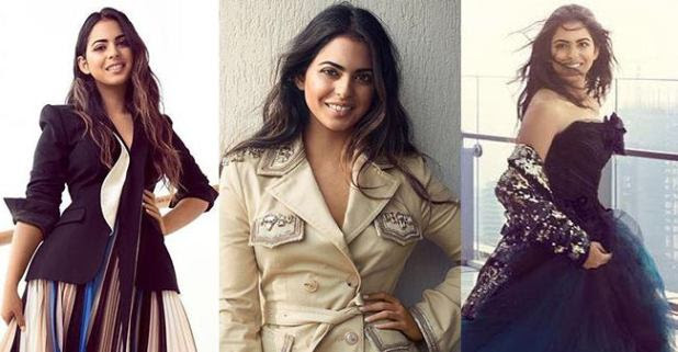 New Bride Isha Ambani Poses for Vogue magazine cover and the pictures are just amazing