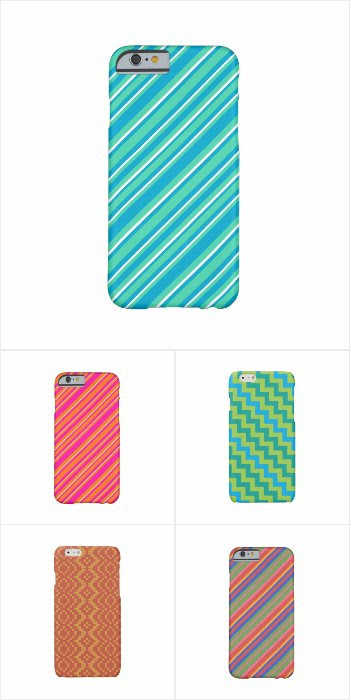 iPhone 6 cases with Geometric Patterns