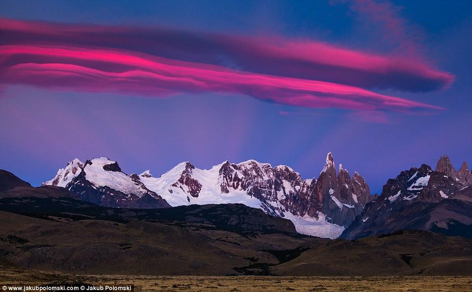 El Chaltén is a small mountain village in Santa Cruz Province,  Argentina. It is located in the riverside of Río de las Vueltas