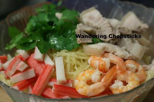 Goi Bi Soi Tom Thit Heo (Vietnamese Spaghetti Squash Salad with Shrimp and Pork) 7