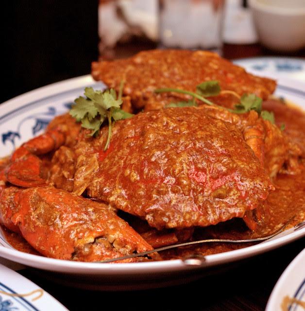 Classic Chili Crab Ubin Style
