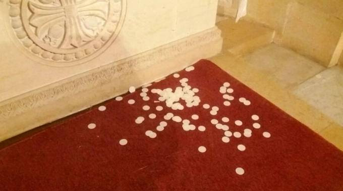 Profanan la Basílica del Monte Tabor