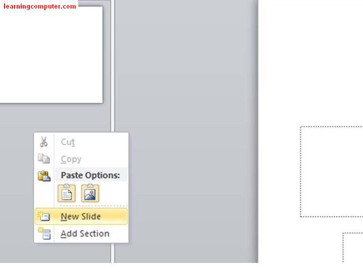 PowerPoint 2007 How to add new slide4