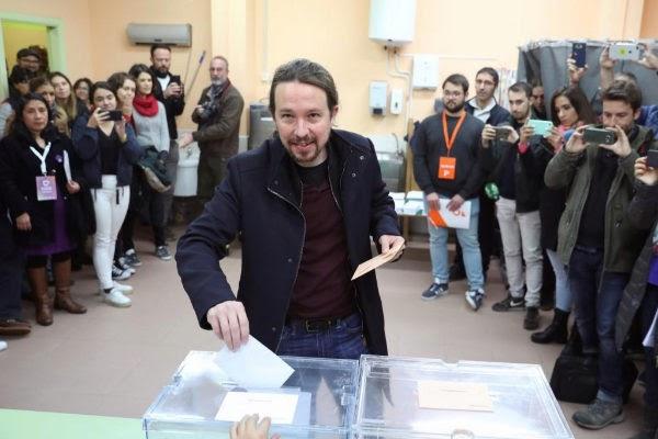 Elecciones generales 2019, en directo   El mensaje de Pablo Iglesias a Pedro Sánchez.